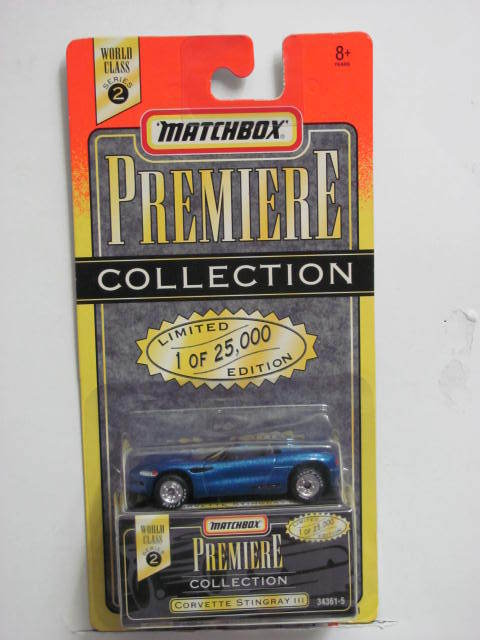 MATCHBOX PREMIERE COLLECTION SERIES 2 CORVETTE STINGRAY III