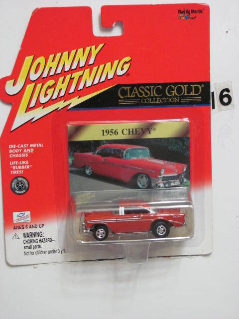 JOHNNY LIGHTNING CLASSIC GOLD COLLECTION 1956 CHEVY