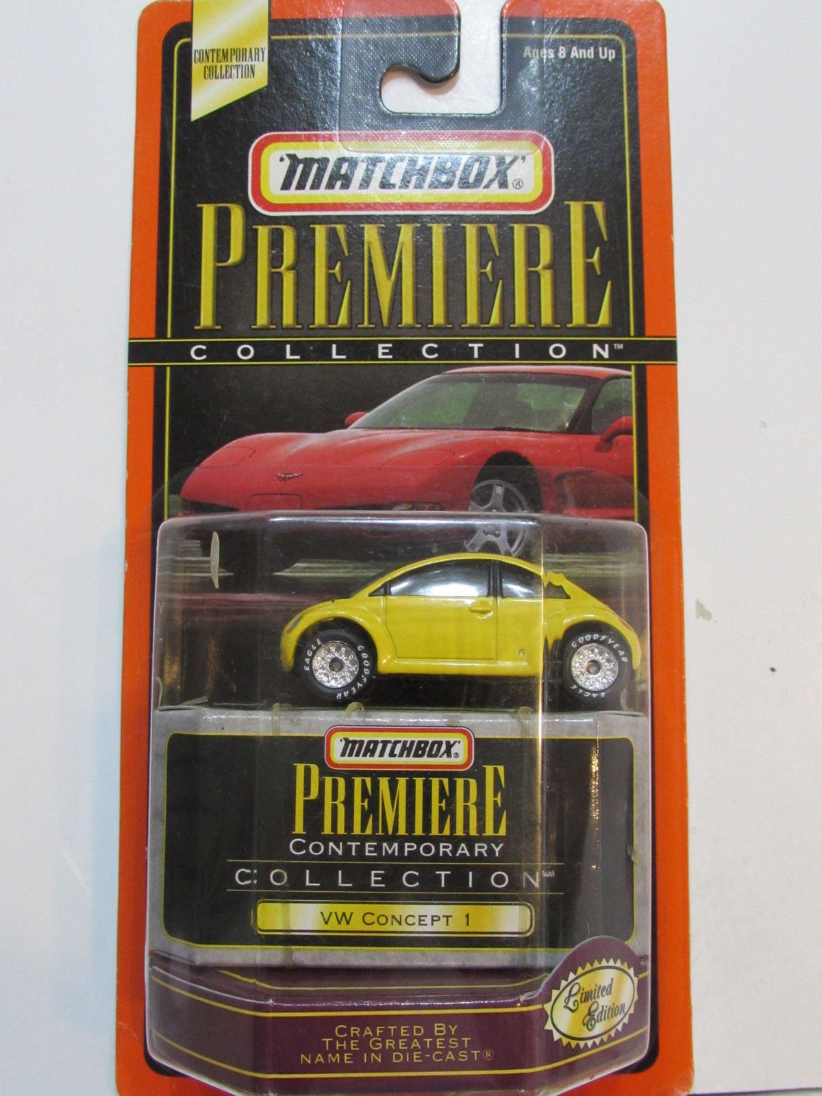 MATCHBOX PREMIERE VW CONCEPT 1 YELLOW