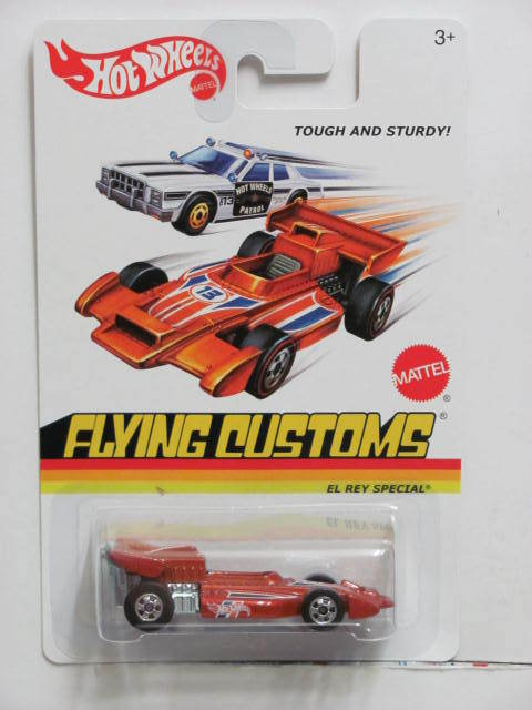 HOT WHEELS FLYING CUSTOMS EL REY SPECIAL TOUGH & STURDY