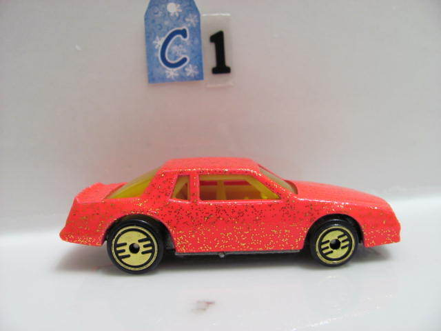 HOT WHEELS 1988 CHEVY STOCKER PINK LOOSE