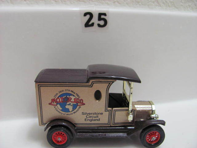 MATCHBOX MODELS OF YESTERYEAR Y-12 1912 MODEL T FORD GOLD ENGLAND