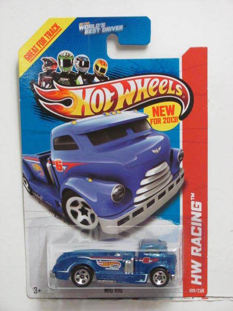 HOT WHEELS 2013 HW RACING - HW RACE TEAM MIG RIG BLUE