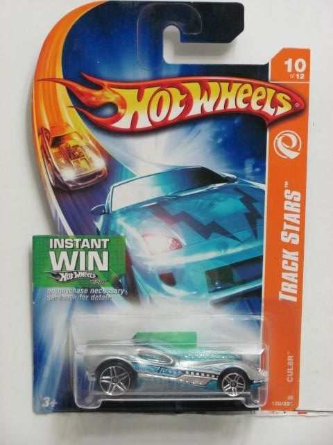 HOT WHEELS 2006 TRACK STARS CUL8R SILVER