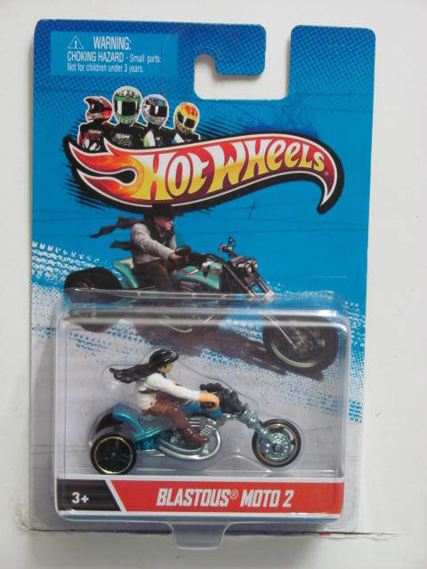 HOT WHEELS 2013 1:64 SCALE BLASTOUS MOTO 2