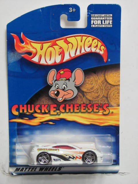 HOT WHEELS CHUCKE, CHEESE'S SHO STOPPER WHITE