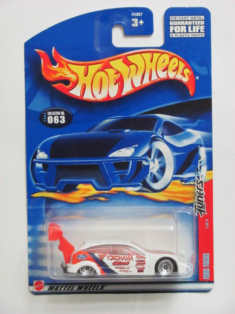 HOT WHEELS 2002 FORD FOCUS #063 TUNERS