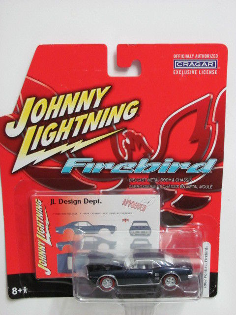 JOHNNY LIGHTNING FIREBIRD JL DESIGN DEPT. 1967 PONTIAC FIREBIRD BLACK