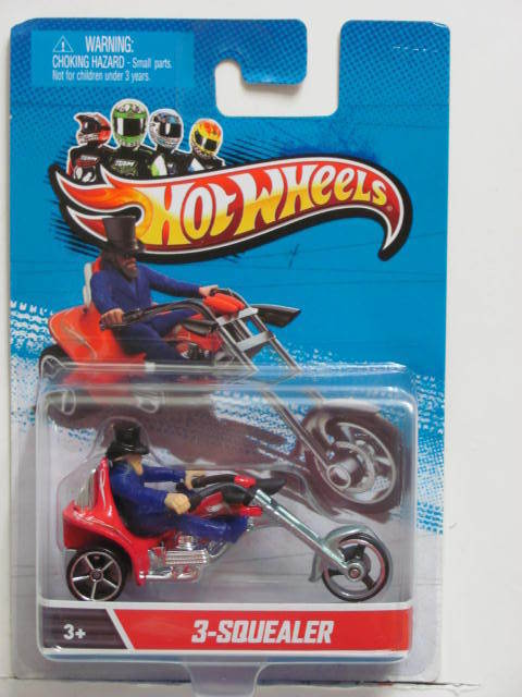 HOT WHEELS 2012 3-SQUEALER