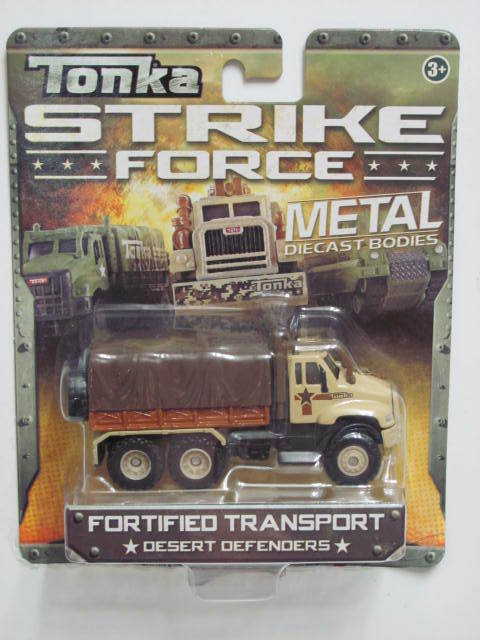 TONKA STRIKE FORCE METAL DIECAST BODIES FORTIFIED TRANSPORT 3+