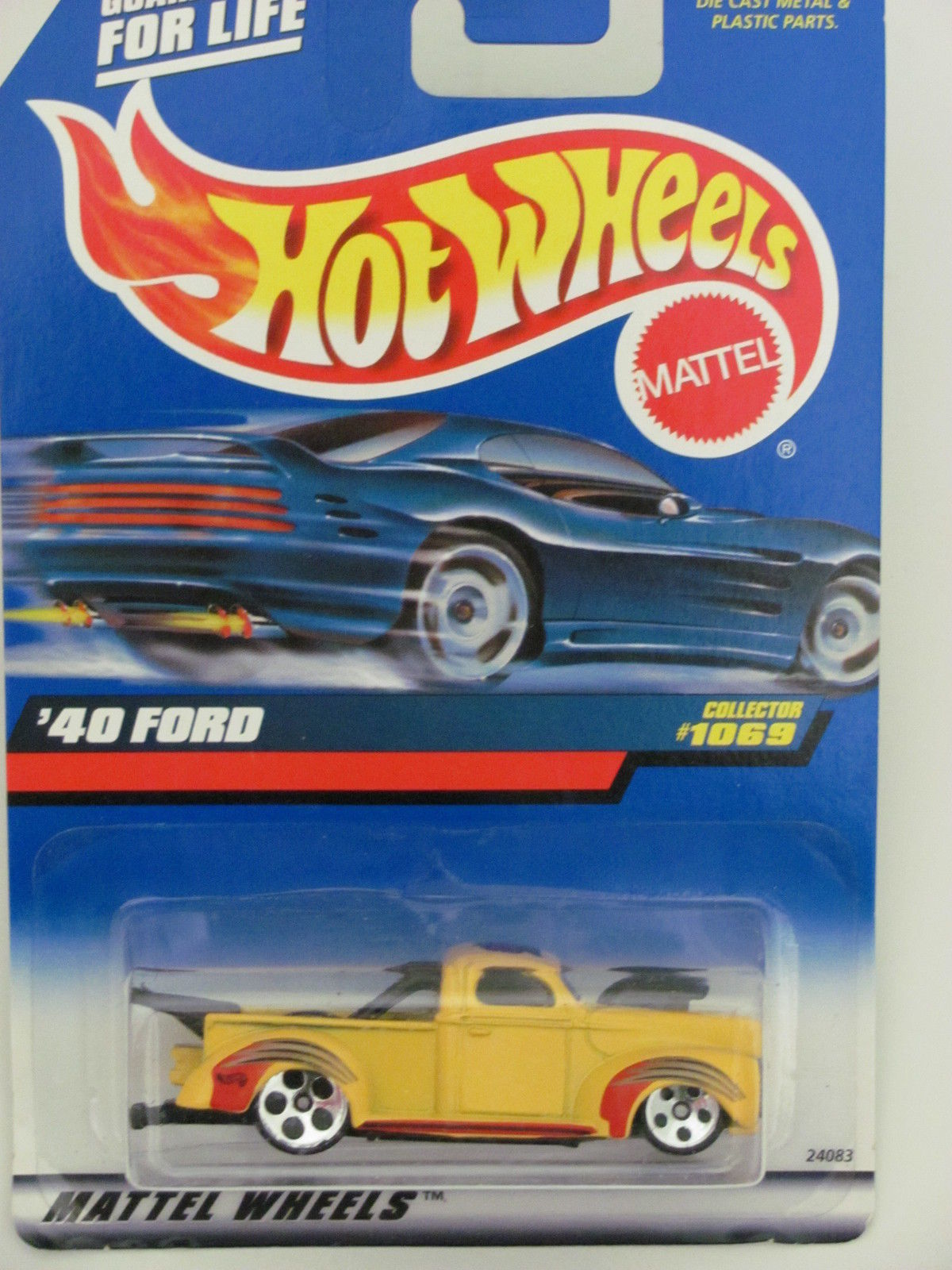 HOT WHEELS 1999 '40 FORD COLLECT. #1069 YELLOW