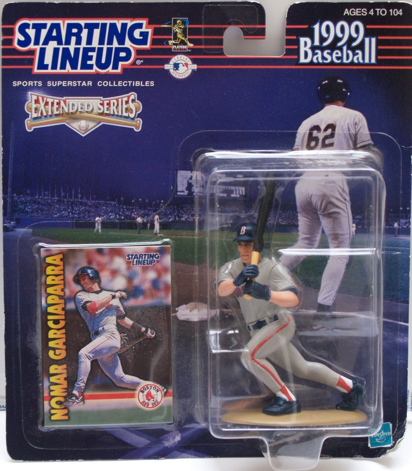1999 STARTING LINEUP ACTION FIGURE - NOMAR GARCIAPARRA - BOSTON RED SOX