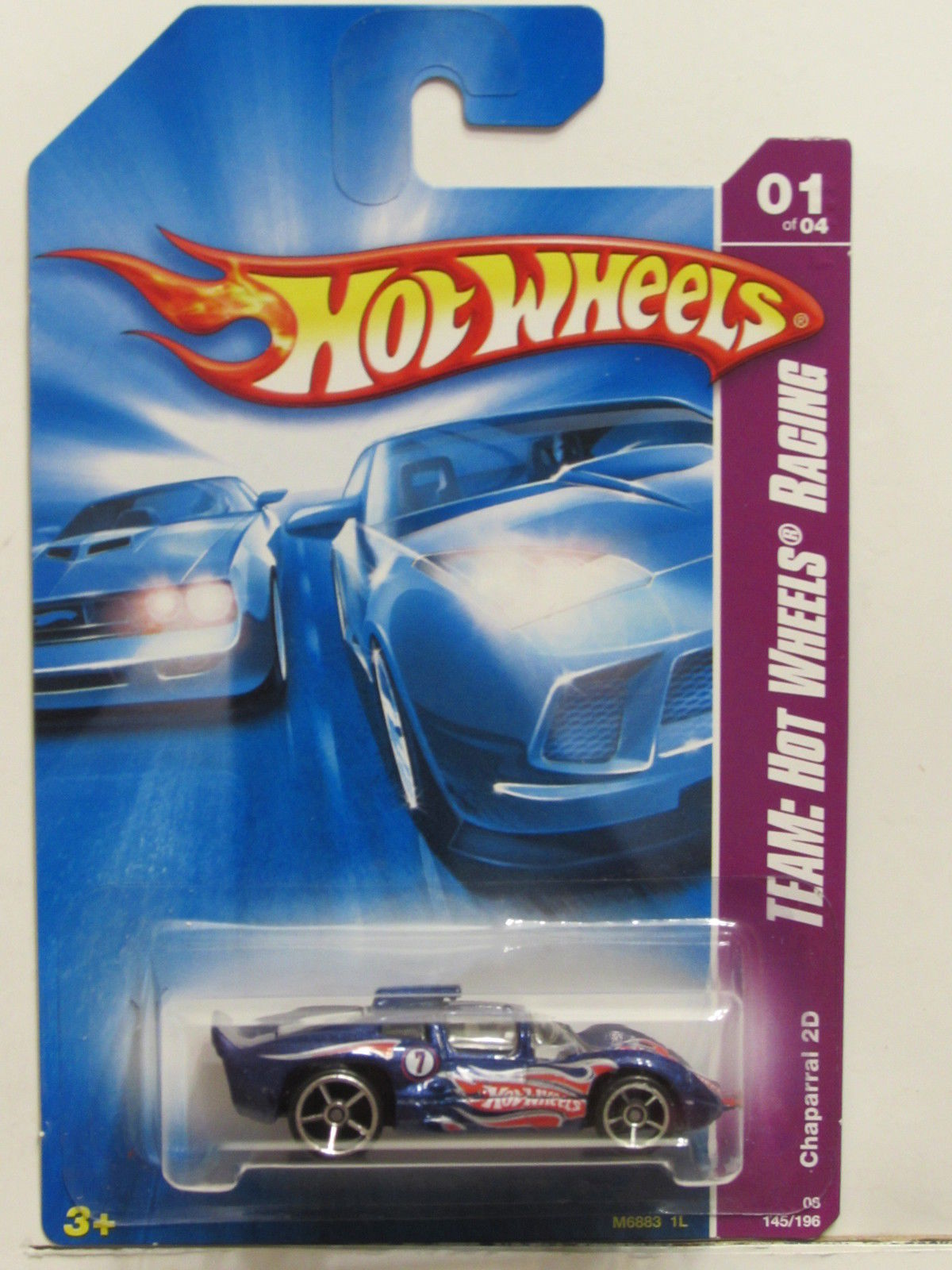 HOT WHEELS 2008 TEAM: HW RACING CHAPARRAL 2D BLUE