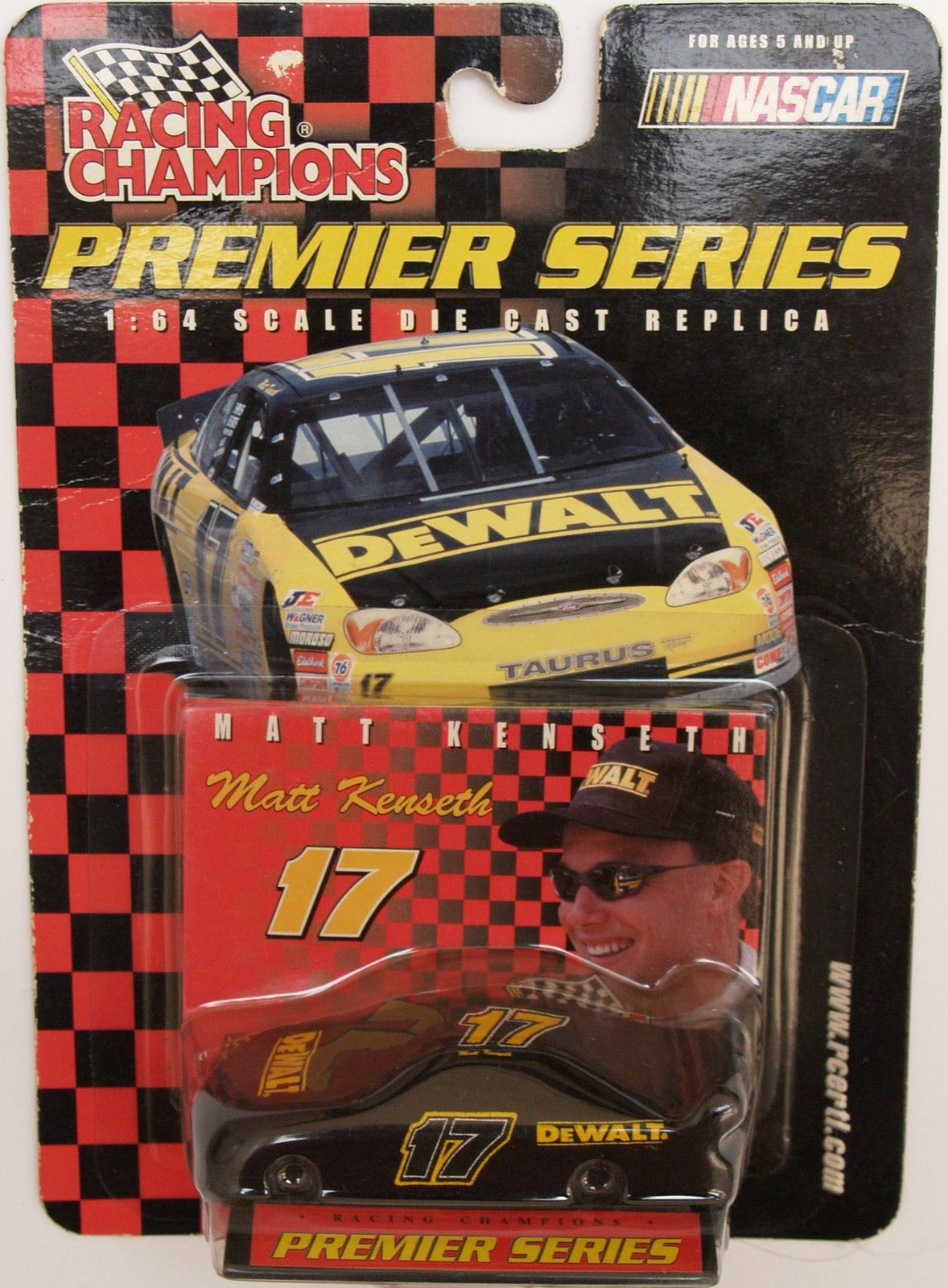 2000 RACING CHAMPIONS - PREMIER SERIES - #17 MATT KENSETH