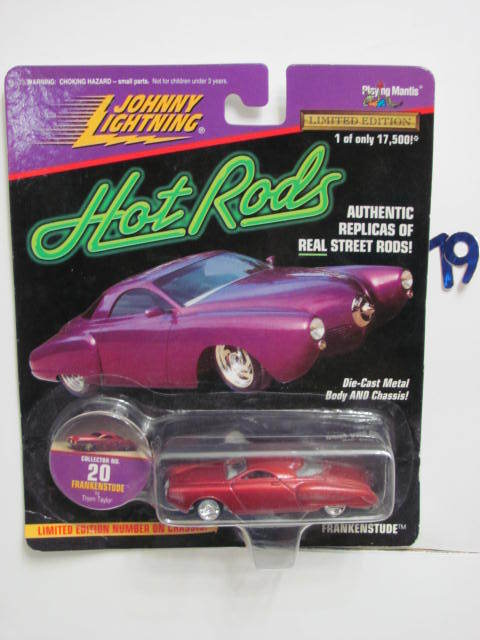 JOHNNY LIGHTNING HOT RODS FRANKENSTUDE RED #20