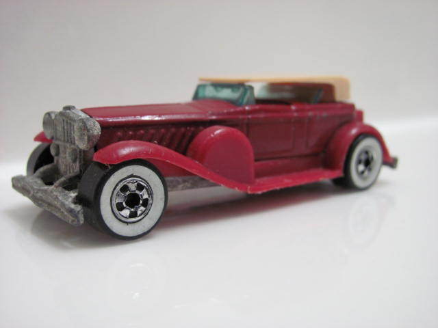 HOT WHEELS 1976 31 DOOZIE MAROON HTF C5