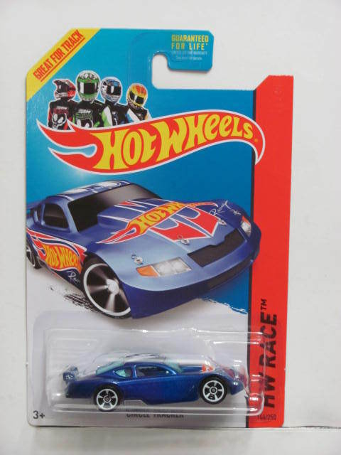 HOT WHEELS 2014 HW RACE - HW RACE TEAM SIRCLE TRACKER NO TAMPO ERROR