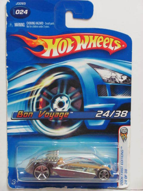 HOT WHEELS 2006 FIRST EDITIONS BON VOYAGE #024