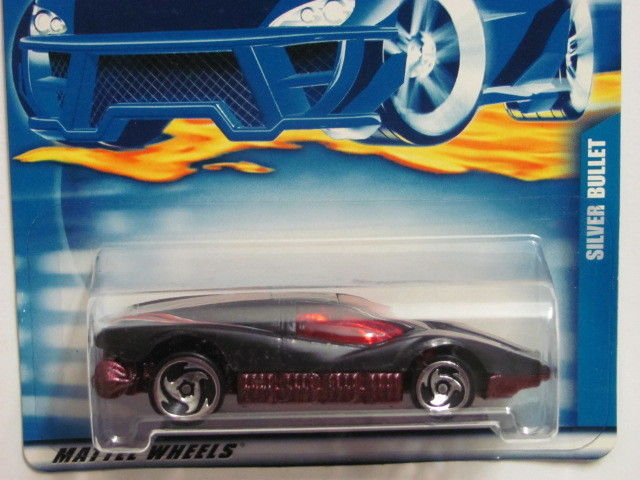HOT WHEELS 2001 SILVER BULLET - AEROFLASH COLLECT. #229 BLACK