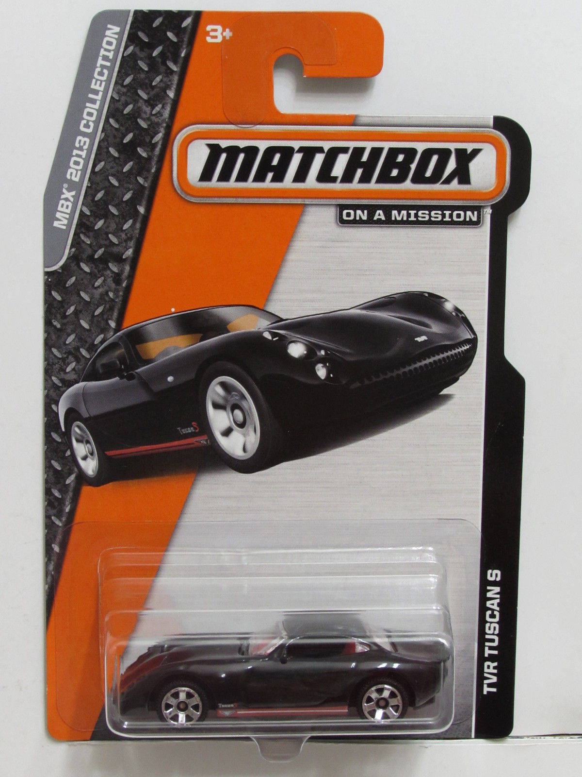 MATCHBOX 2013 ON A MISSION MBX COLLECTION TVR TUSCAN S