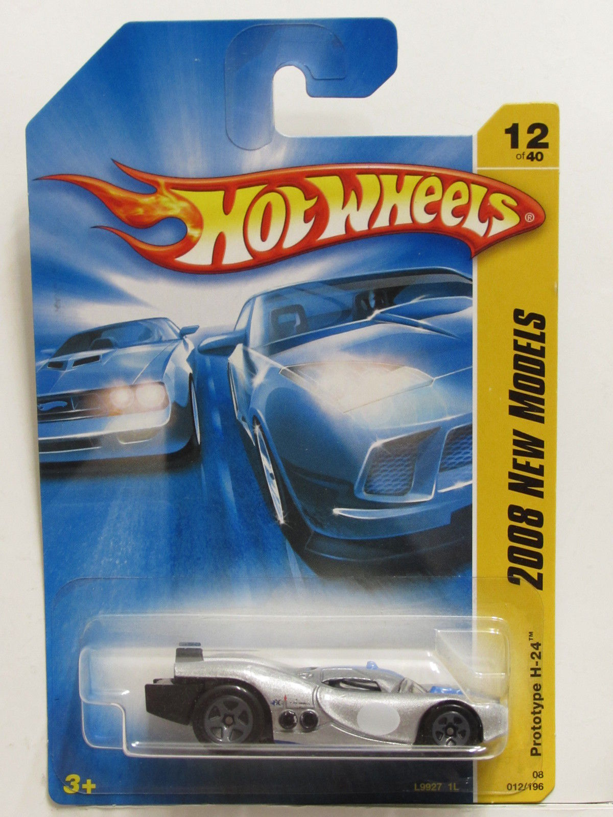 HOT WHEELS 2008 NEW MODELS PROTOTYPE H-24 SILVER E+