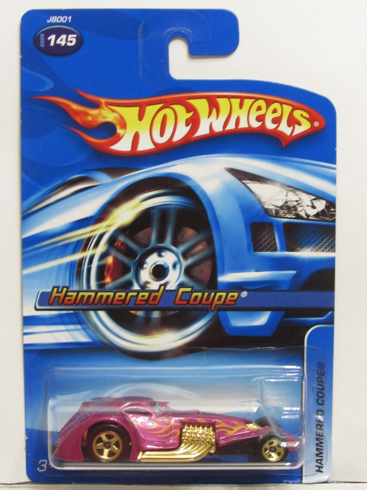 HOT WHEELS 2006 HAMMERED COUPE #145 E+