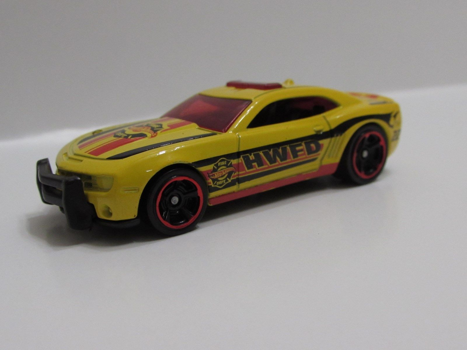 HOT WHEELS 2014 HW CITY - HW RESCUE '10 CAMARO SS LOOSE C4