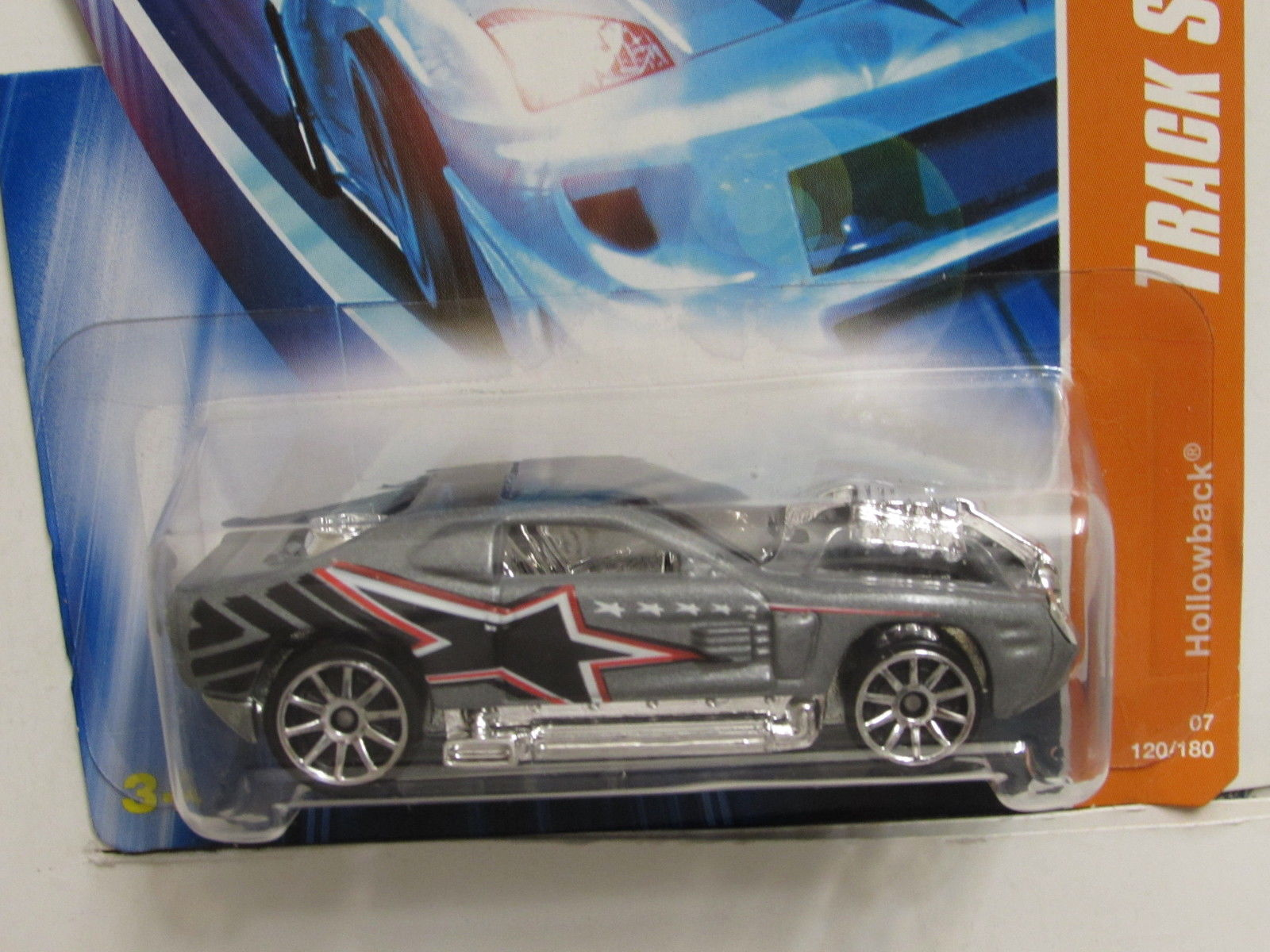 HOT WHEELS 2007 TRACK STARS HOLLOWBACK