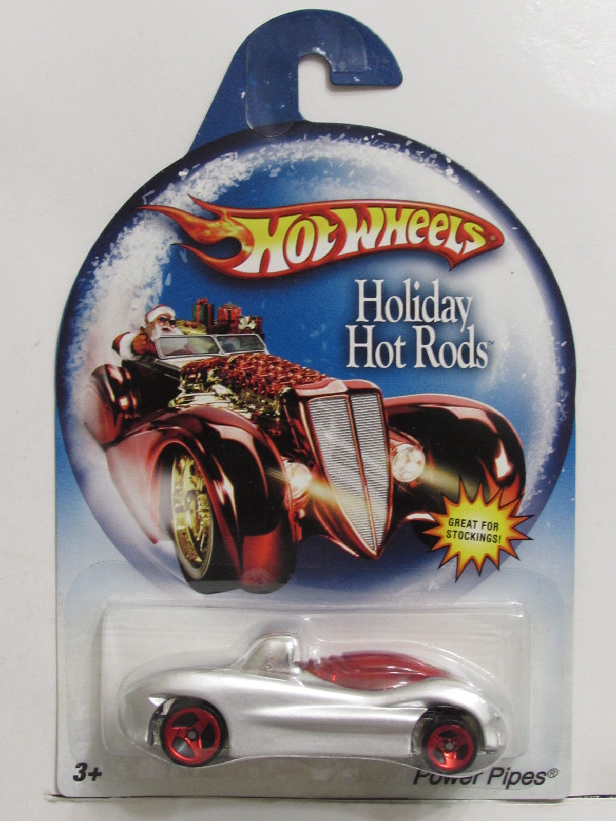 HOT WHEELS HOLIDAY HOT RODS POWER PIPES E+