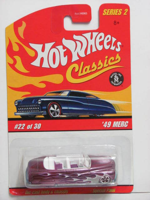 HOT WHEELS CLASSICS SERIES 2 #22/30 '49 MERC PURPLE