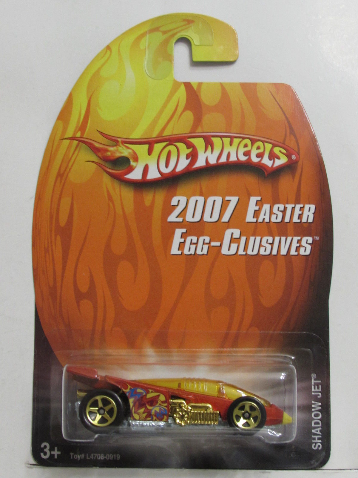 HOT WHEELS 2007 EASTER EGG-CLUSIVES SHADOW JET E+