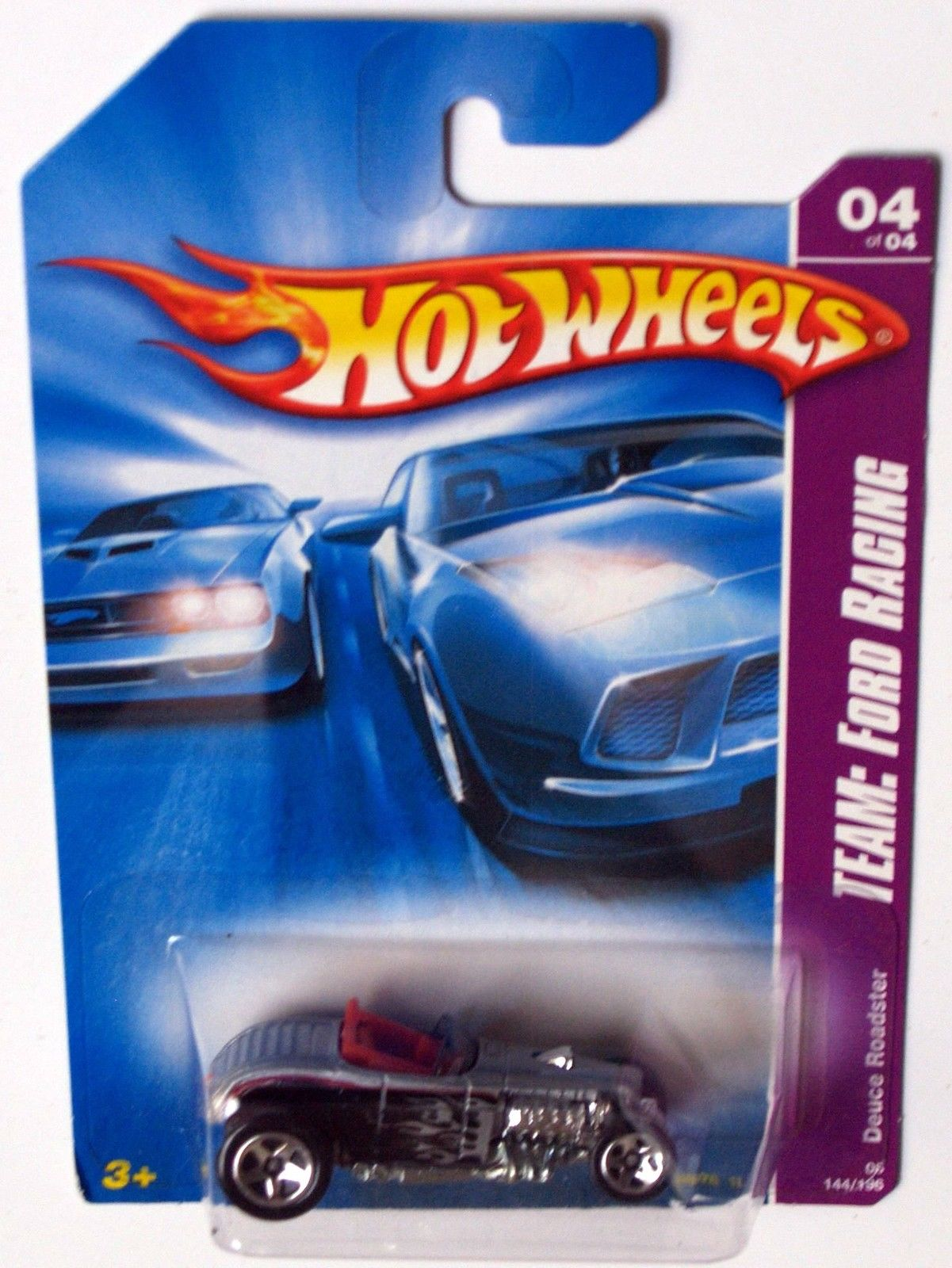 HOT WHEELS 2008 TEAM: FORD RACING DEUCE ROADSTER