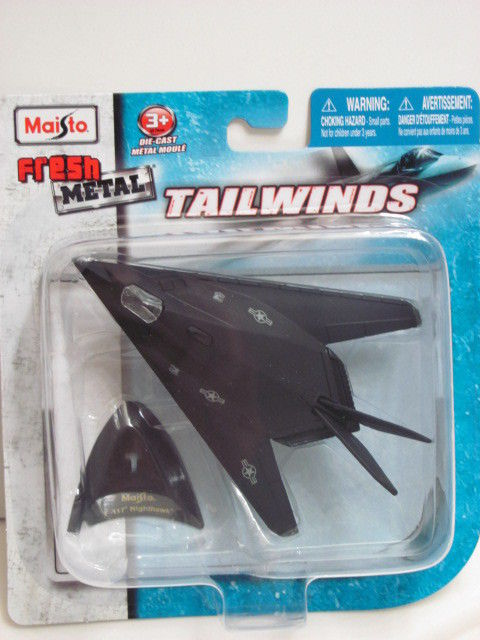 MAISTO TAILWINDS F-117 NIGHTHAWK FRESH METAL