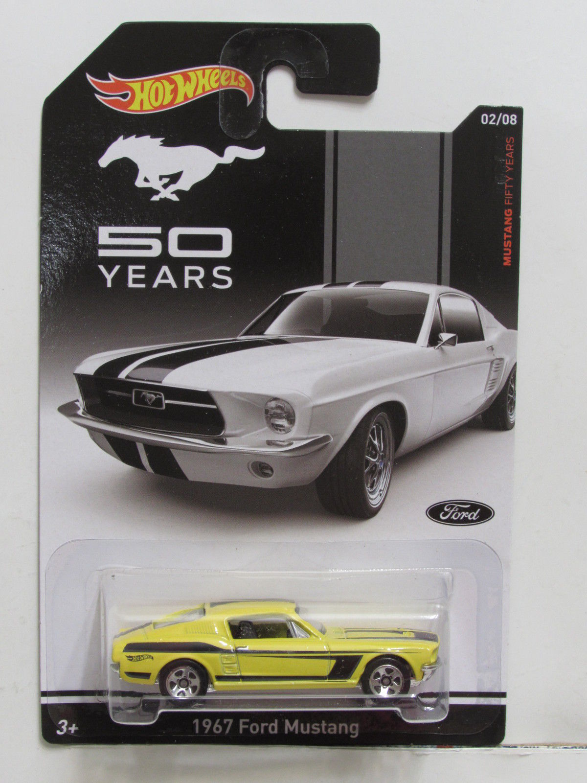 HOT WHEELS MUSTANG FIFTY YEARS TO YEARS 1967 FORD MUSTANG