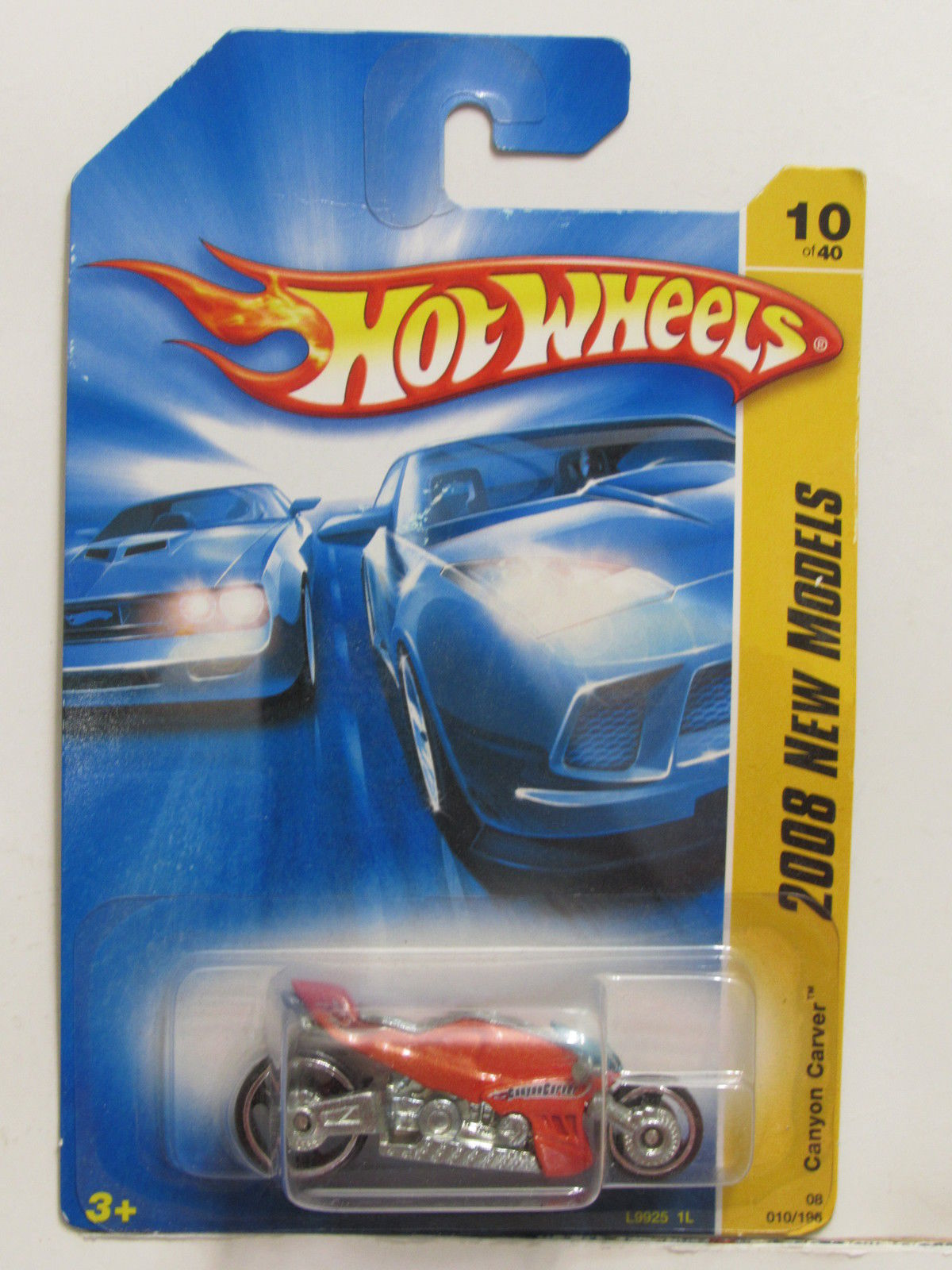 HOT WHEELS 2008 NEW MODELS CANYON CARVER ORANGE