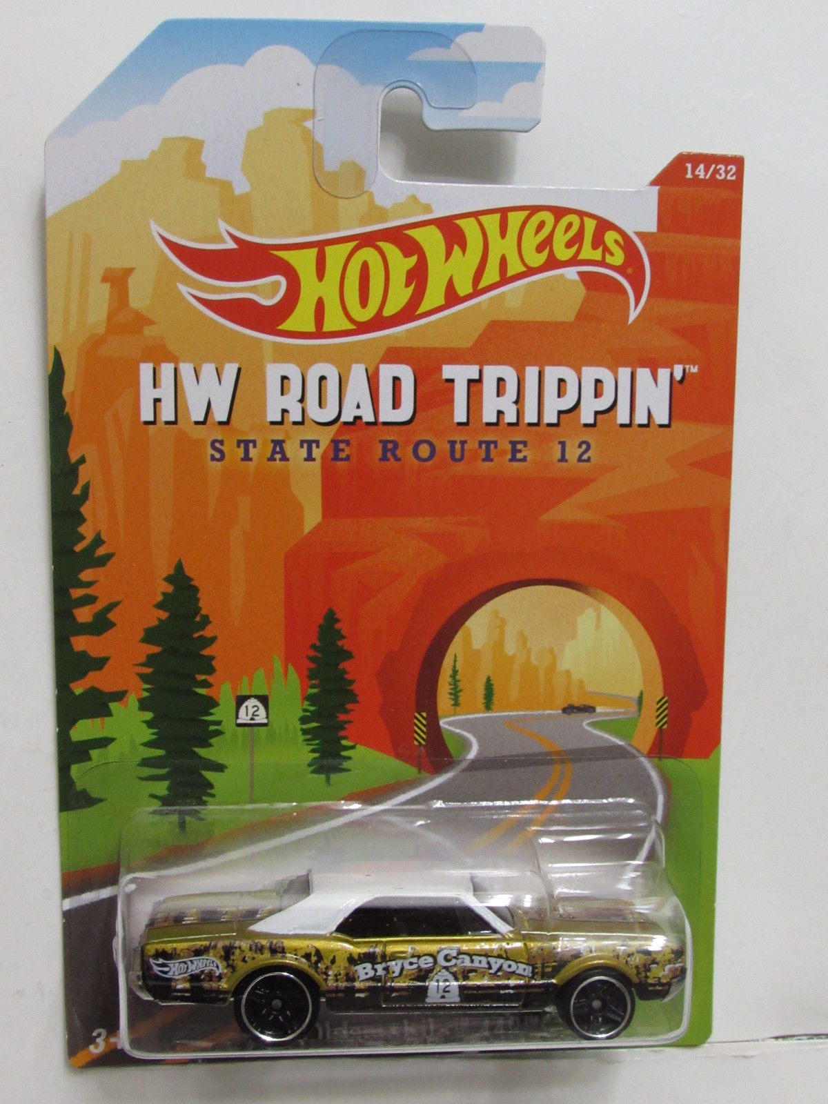 HOT WHEELS HW ROAD TRIPPIN' STATE ROUTE 12 '67 OLDSMOBILE 442