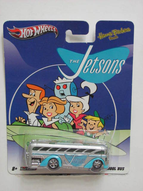 HOT WHEELS 2012 HANNA BARBERA THE JETSONS SURFIN' SCHOOL BUS