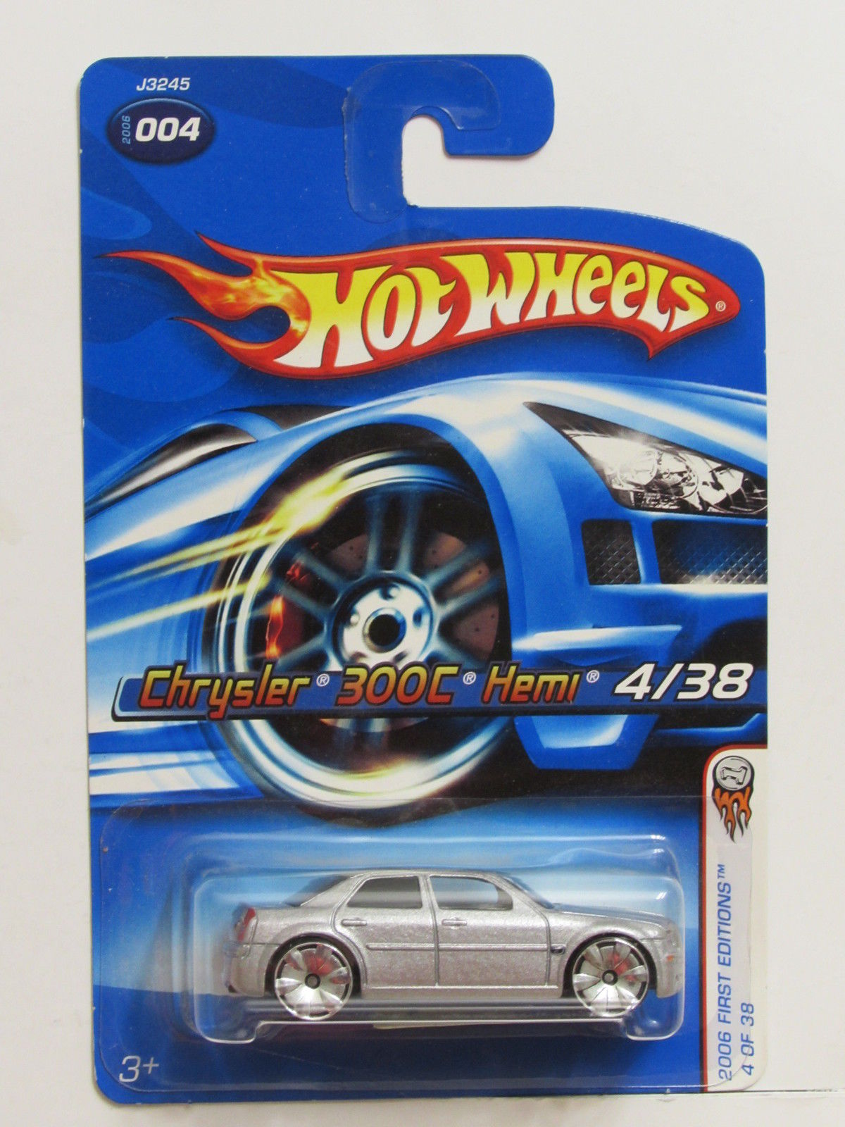 HOT WHEELS 2006 FIRST EDITIONS CHRYSLER 300C HEMI SILVER