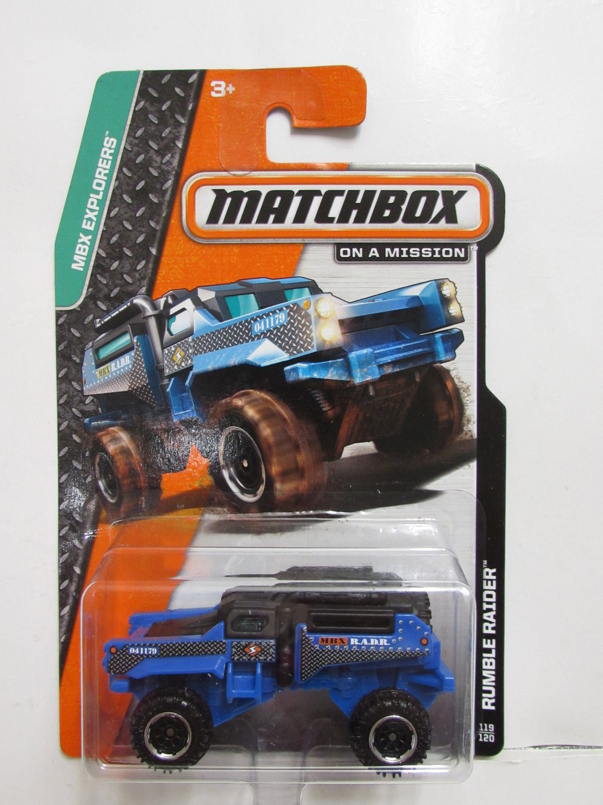 MATCHBOX 2013 ON A MISSION RUMBLE RAIDER