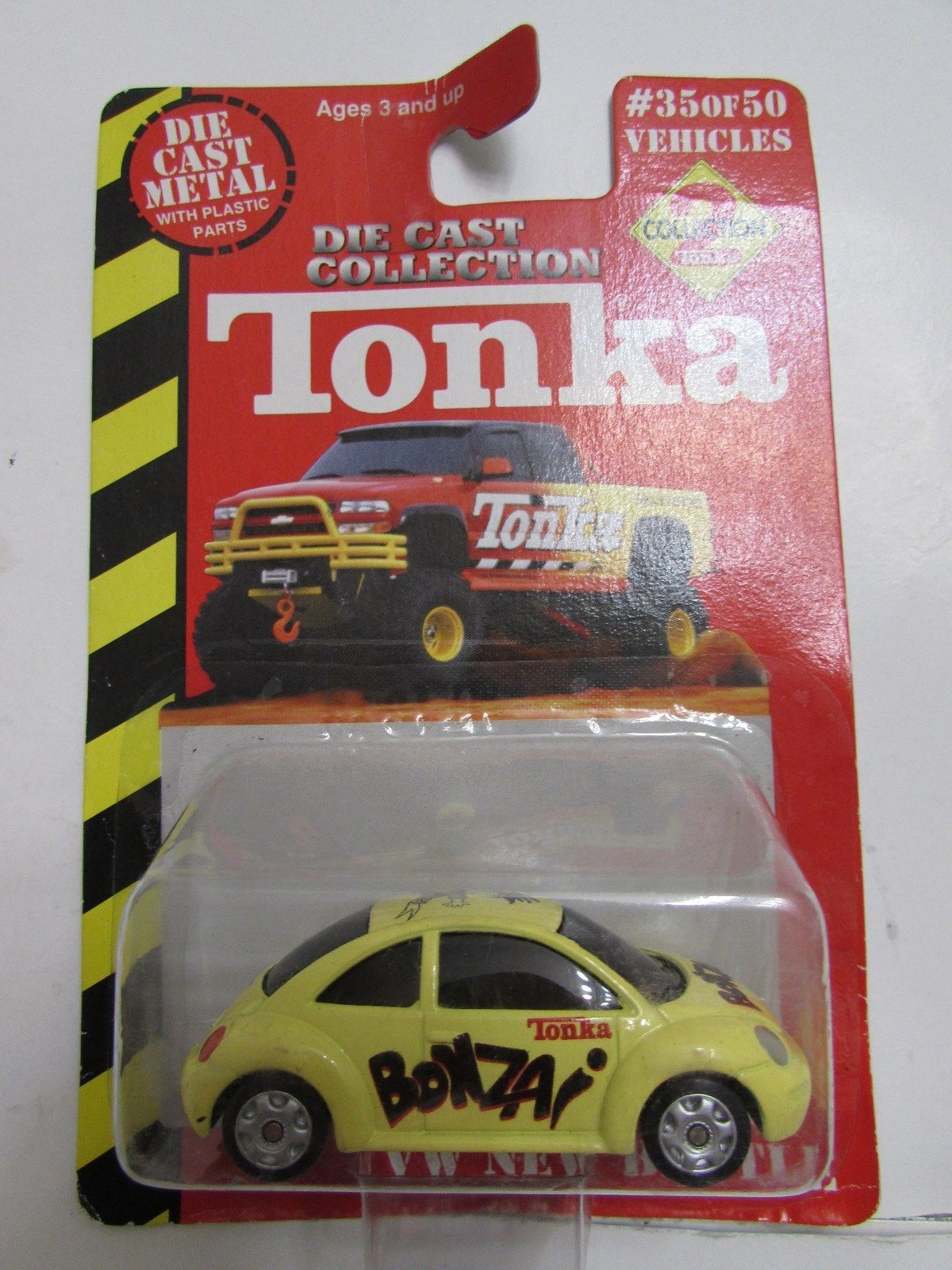 TONKA DIE CAST METAL #35/50 VW NEW BEETLE