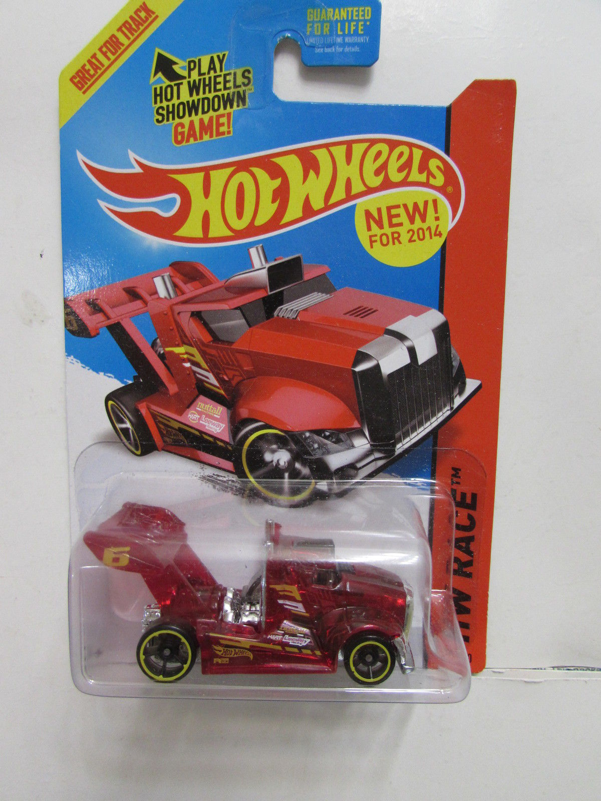 HOT WHEELS HW RACE - X RAYCERS RIG STORM RED