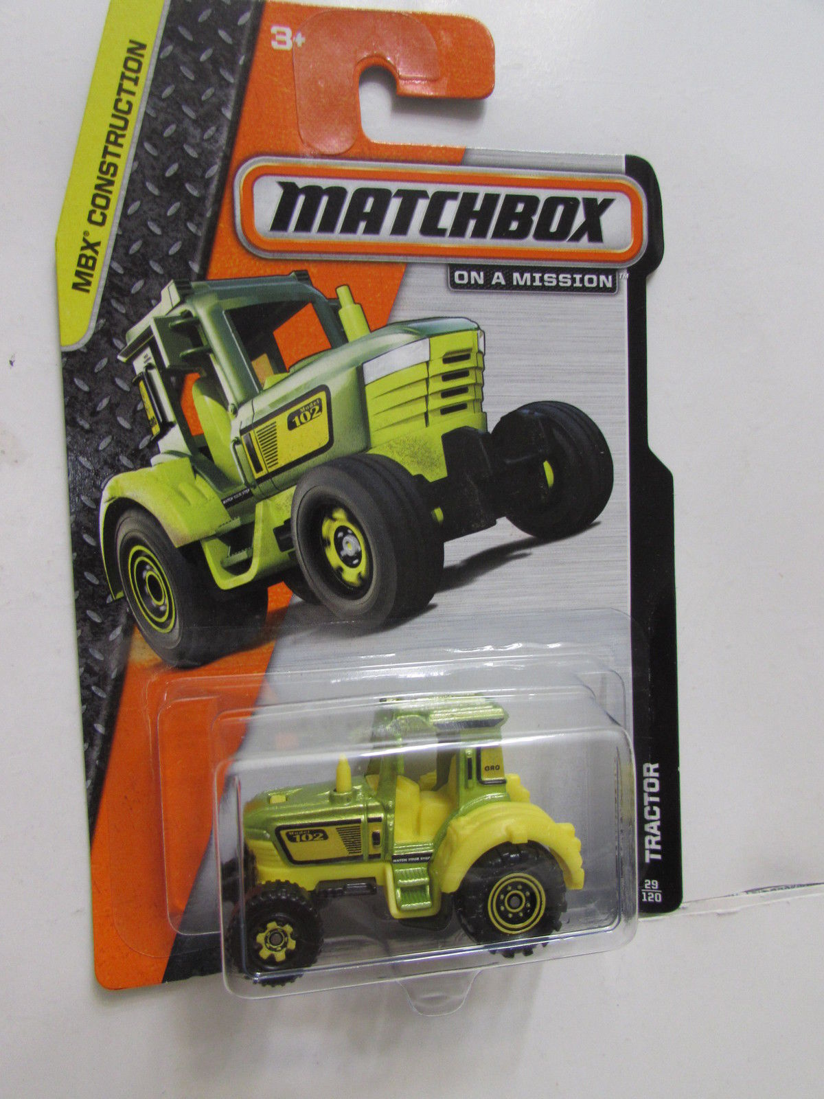MATCHBOX 2014 ON A MISSION TRACTOR