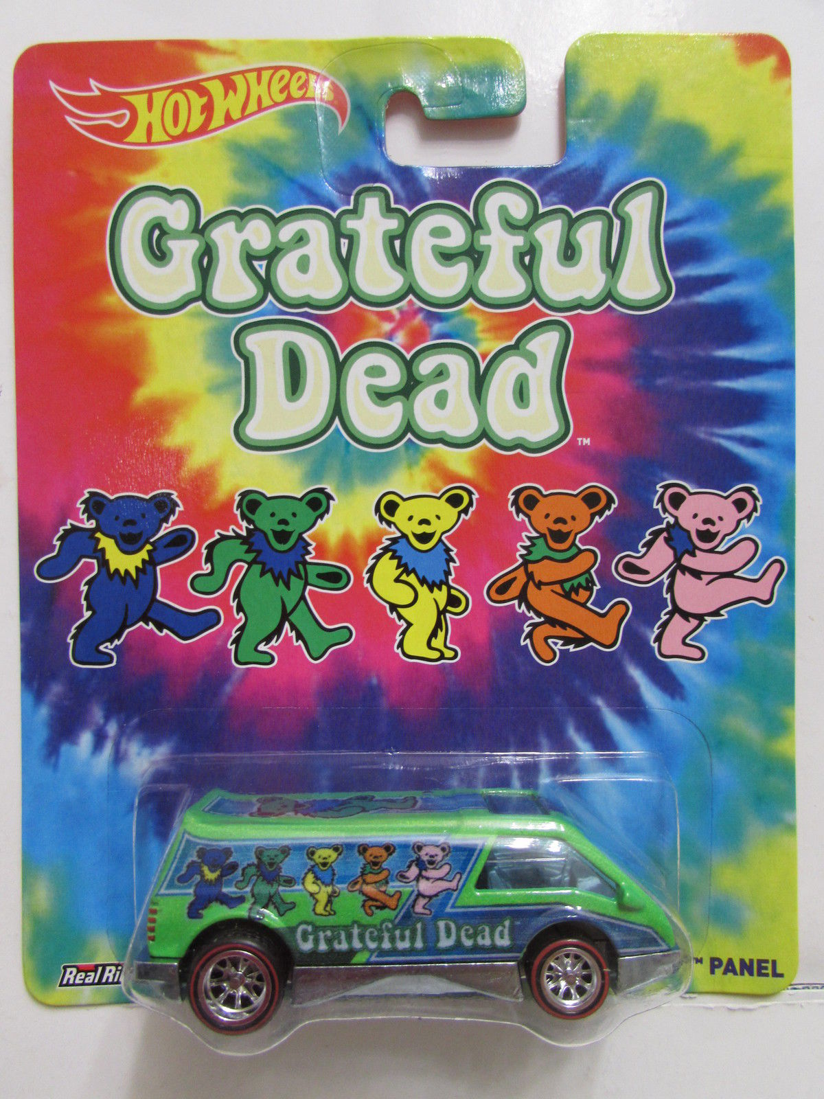 HOT WHEELS POP CULTURE 2014 GRATEFUL DEAD DREAM VAN XGW PANEL