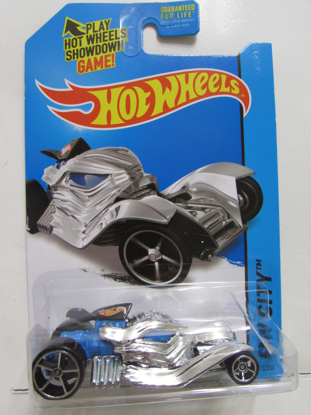 HOT WHEELS 2014 HW CITY - MEDIEVAL RIDES HOWLIN' HEAT