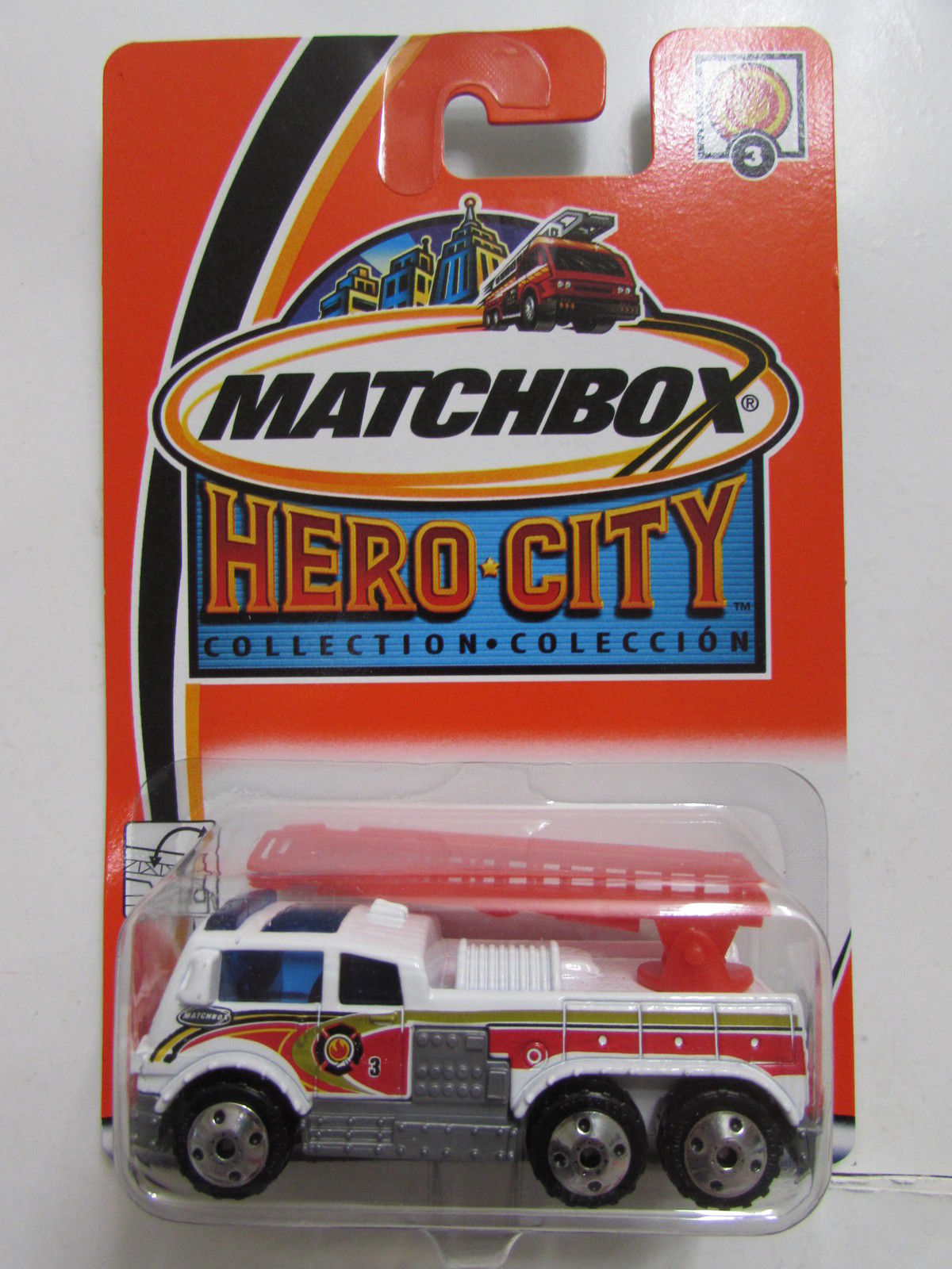 MATCHBOX 2002 HERO-CITY LADDER TRUCK