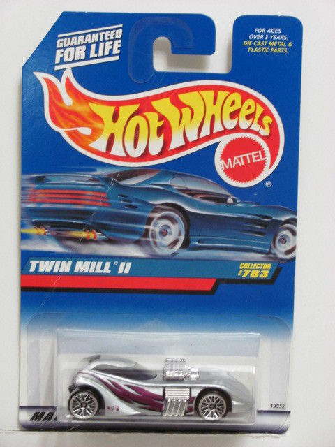 HOT WHEELS 1998 # 783 TWIN MILL II SILVER