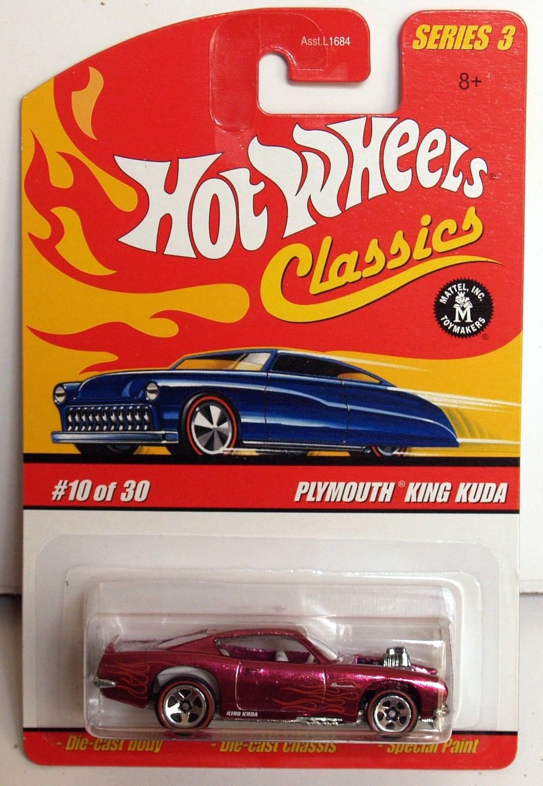 HOT WHEELS CLASSICS SERIES 3 #10/30 PLYMOUTH KING KUDA