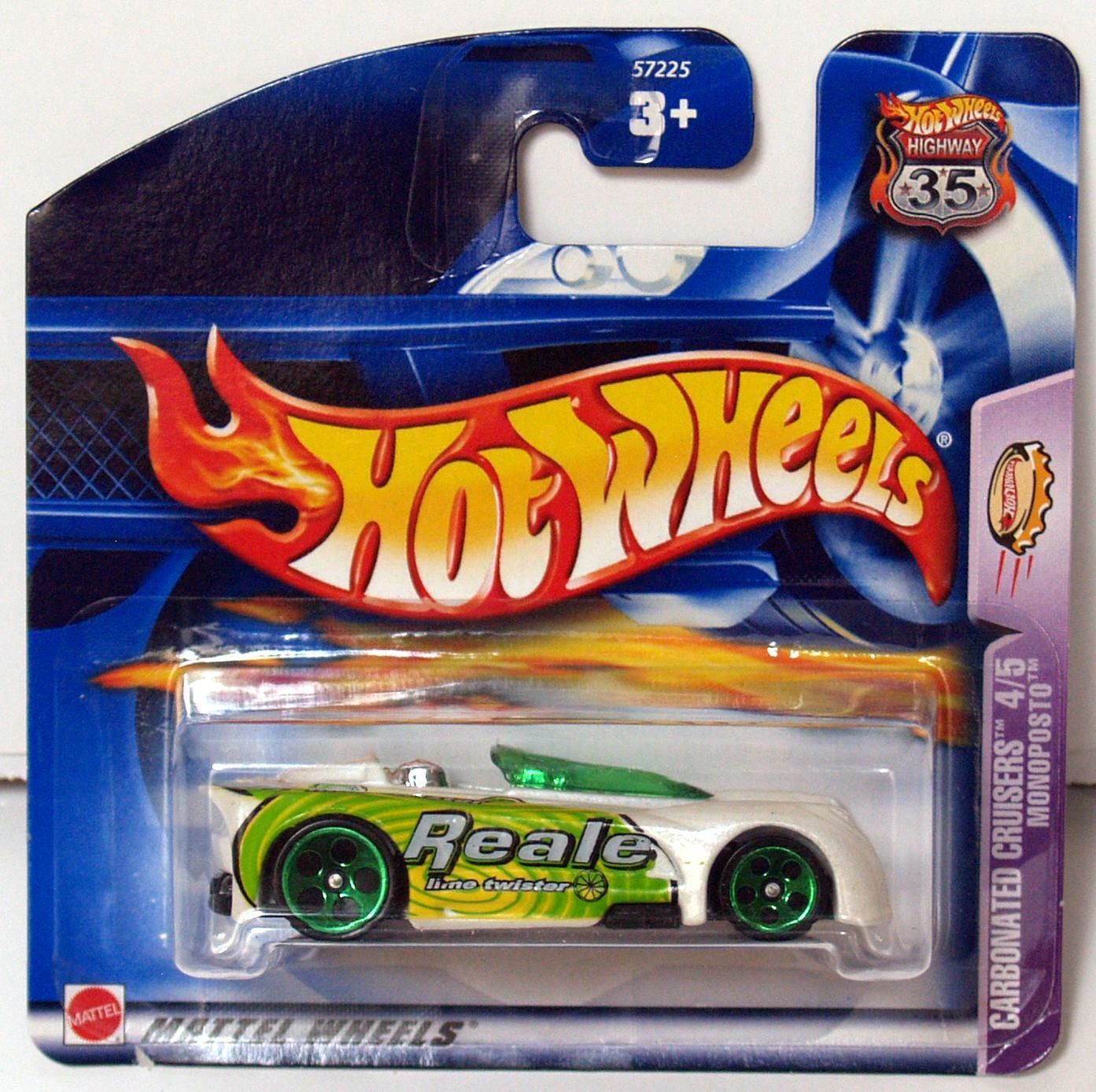 HOT WHEELS 2003 CARBONATED CRUISERS MONOPOSTO SHORTCARD