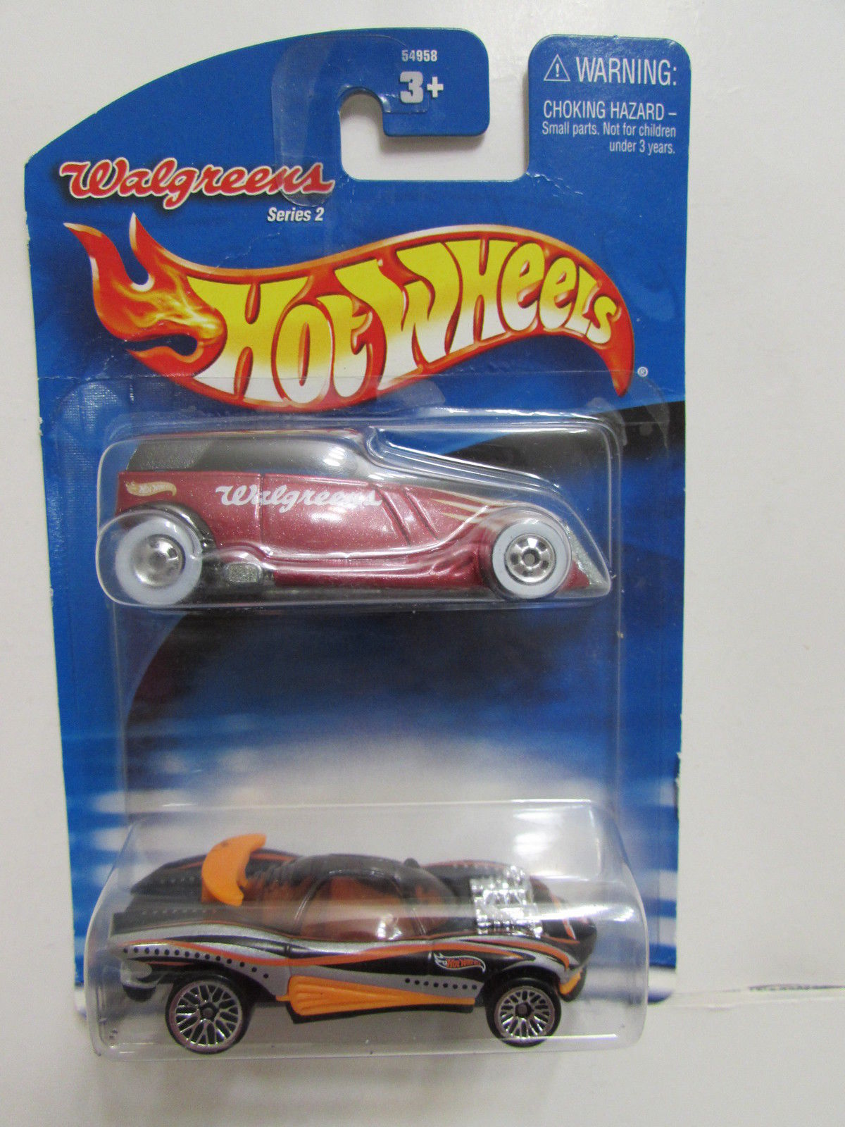 HOT WHEELS 2 CAR PACK PHAETON