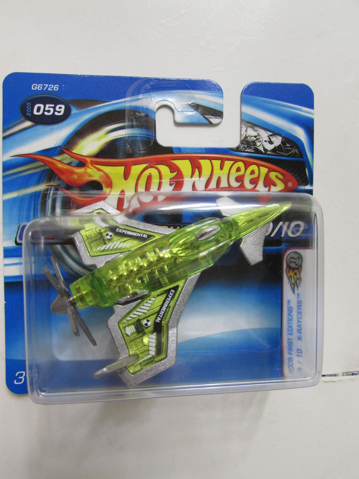 HOT WHEELS 2005 FIRST EDITIONS POISON ARROW SHORTCARD